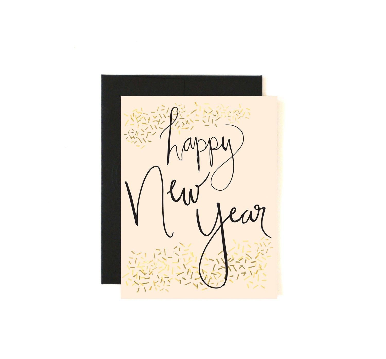 Happy New Year Card Holiday Card Seasons - 2015 new year ideas ...