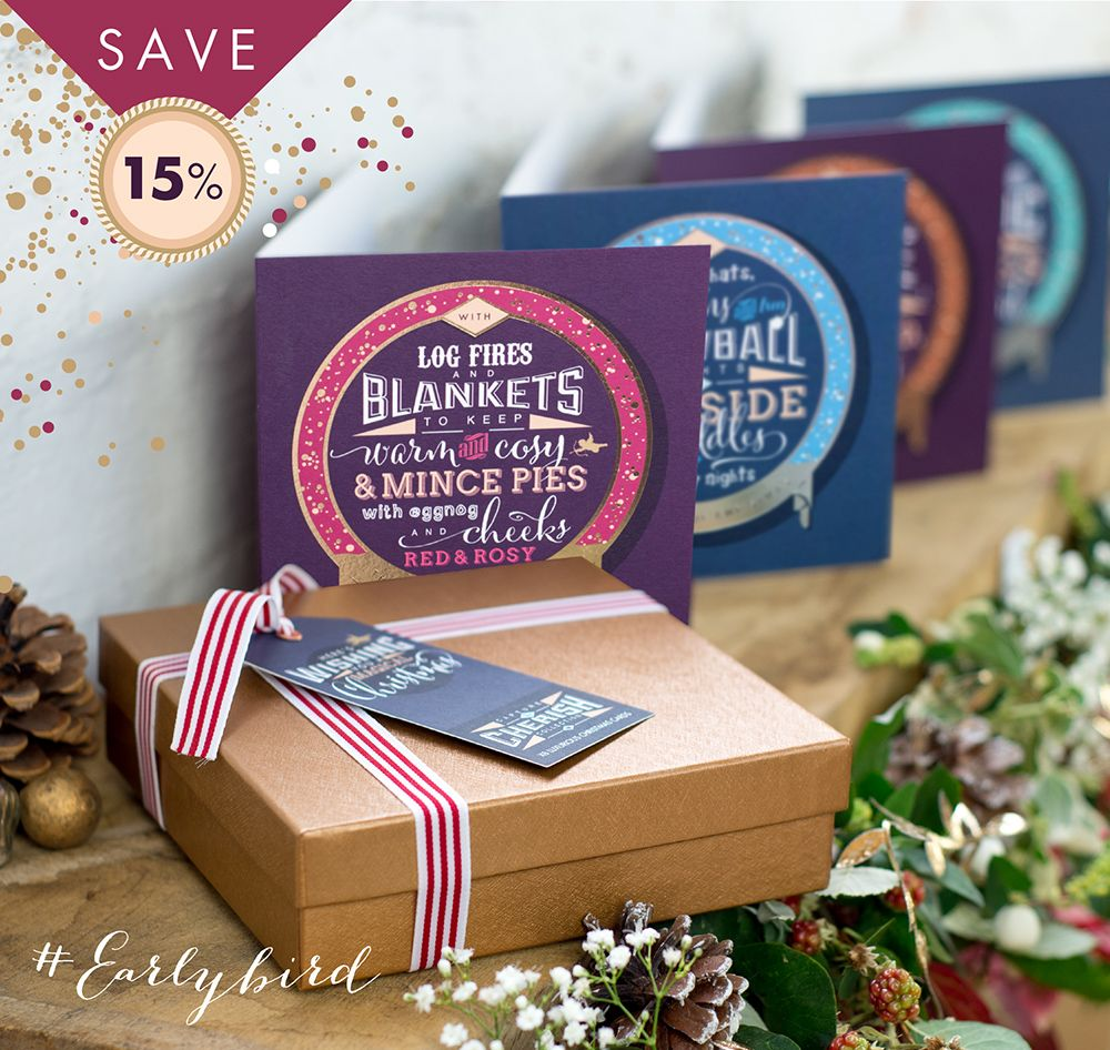Capture and cherish luxury foiled christmas card gift box sets by capture and cherish luxury foiled christmas card gift box sets by paperknots 15 off kristyandbryce Choice Image