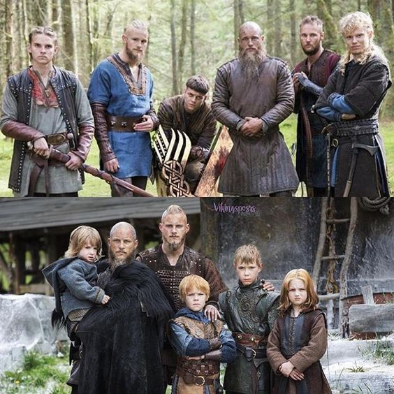 Image of Ragnar lothbrok family