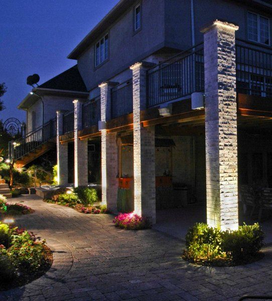 Pillar Lighting Outdoor Accents Lighting Accent
