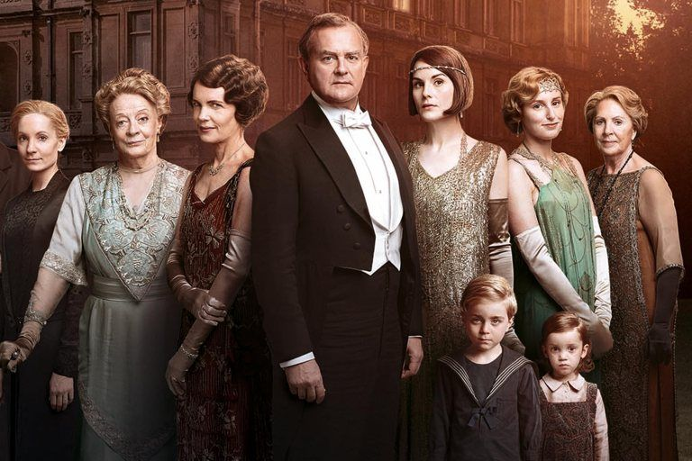 All the photos from the downton abbey movie so far
