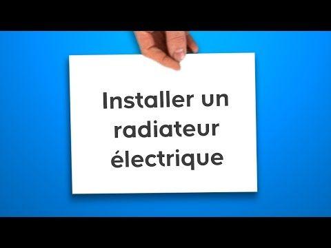443) Installer un radiateur électrique (Castorama) - YouTube wc et - Peindre Un Radiateur Electrique