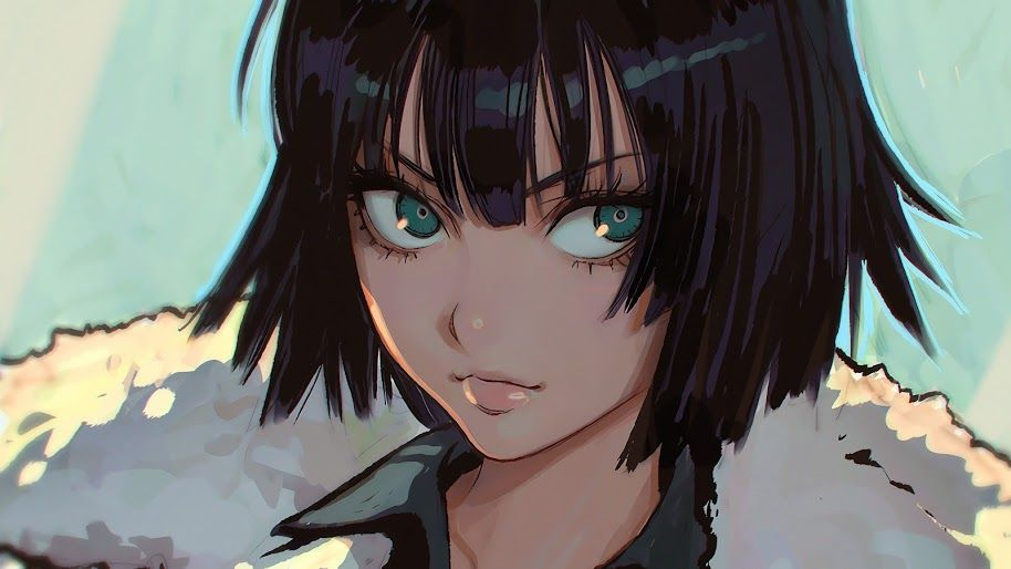 Fubuki One Punch Man 4k 34 Wallpaper For Desktop Laptop Imac Macbook Pc Tablet And Smartphone Iphone Andr One Punch Man Anime Art Girl Cute Drawings