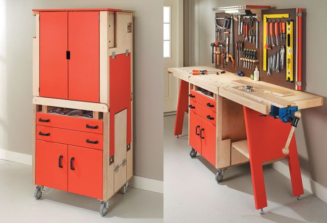 Folding Workshop Design Arrumacao Na Oficina Bancada