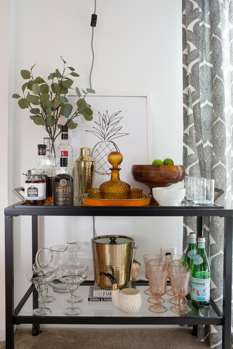 Angolo Bar Arredamento home reveal: bold and bright dining room tour | arredamento