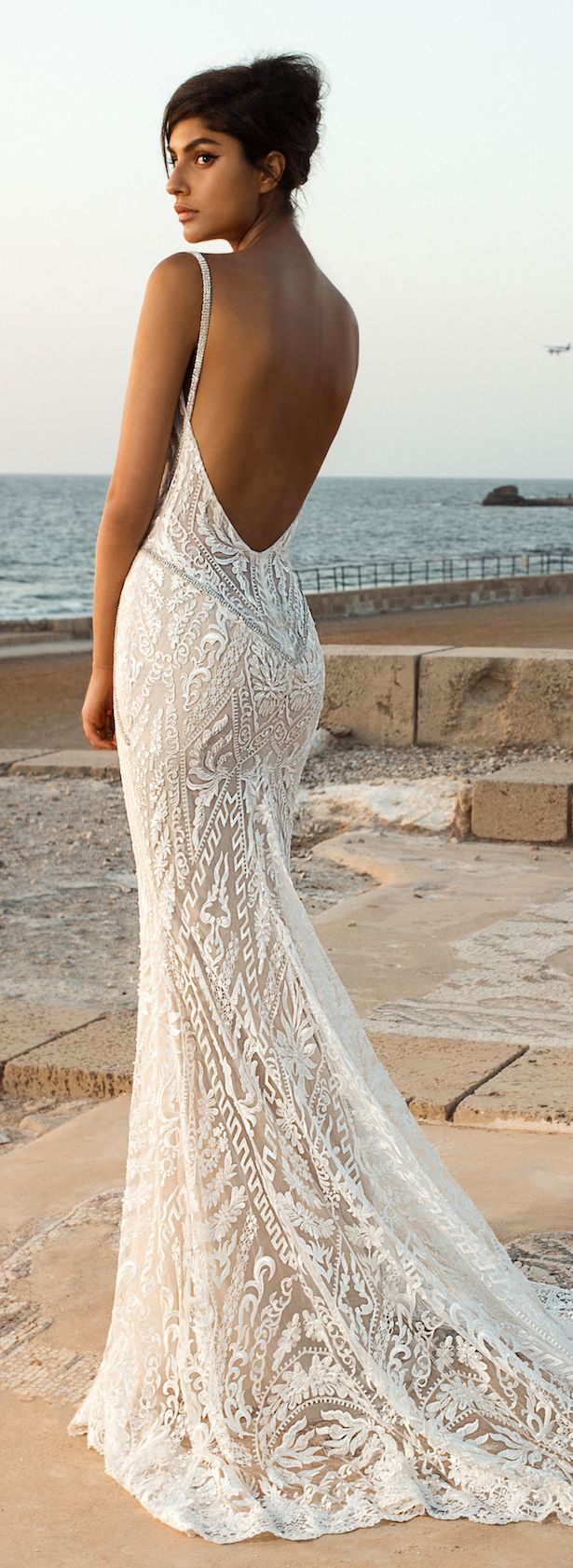 Designer beach wedding dresses  GALA by Galia Lahav Collection NO III Wedding Dresses  Pinterest