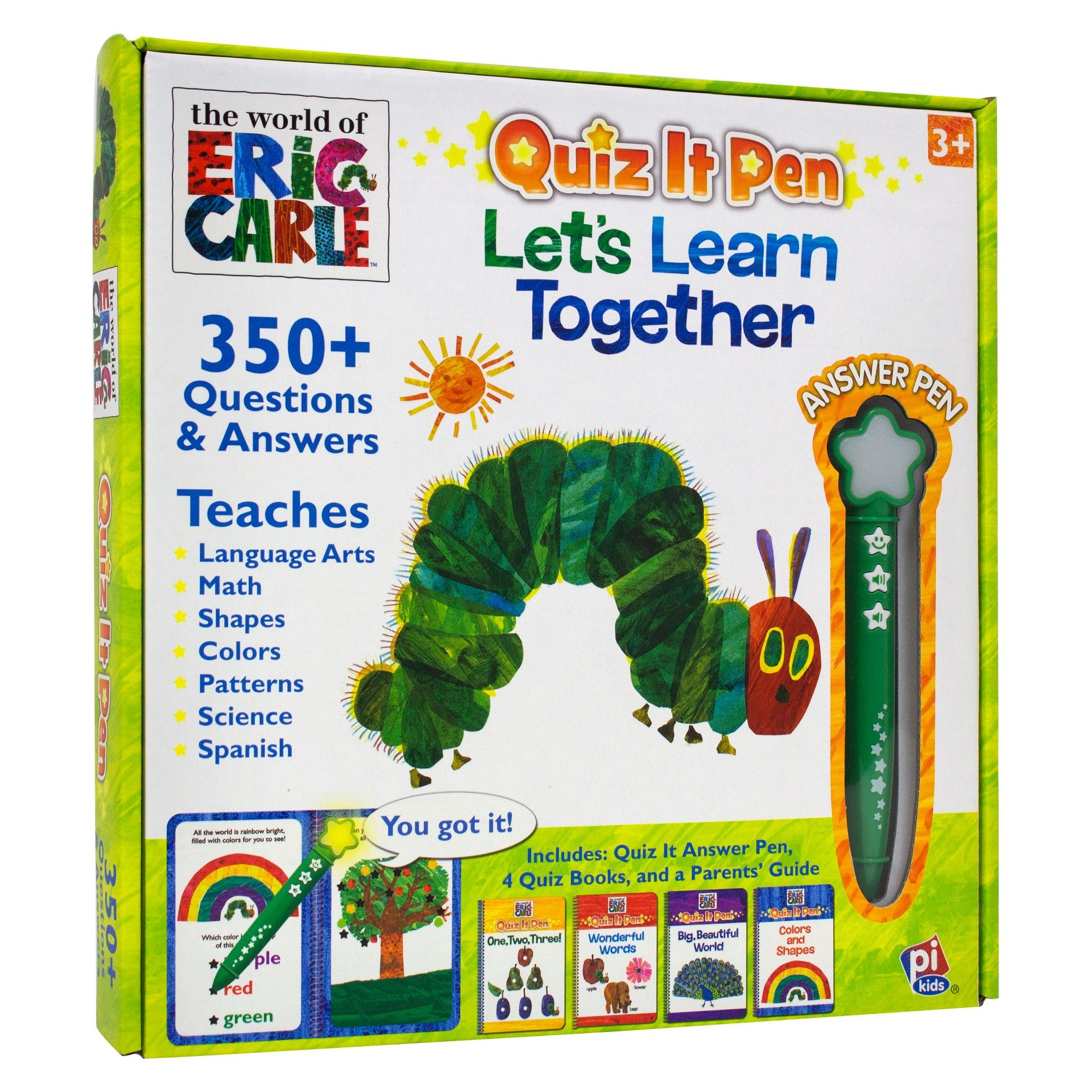 The World Of Eric Carle Quiz It Pen Let S Learn Together