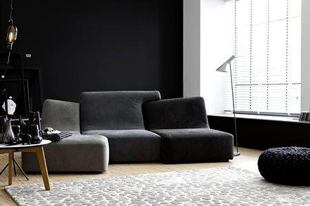Farbe Weiss Und Schwarz Kontrastreich Wohnen Und Einrichten Wohnen Schoner Wohnen Haus Interieurs