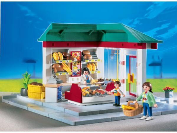 Playmobil 4410 Vendeuse Boulangerie Playmobil Cute Toys Playmobil Sets