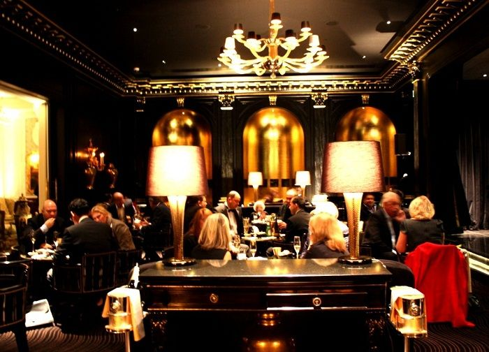 American Bar At The Savoy Hotel, London. #greatrock #designer #inspiration.