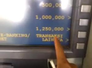 Pin Di Cara Transfer Uang Lewat Atm Bca Ke Bni Lengkap Gambar Limit Tf