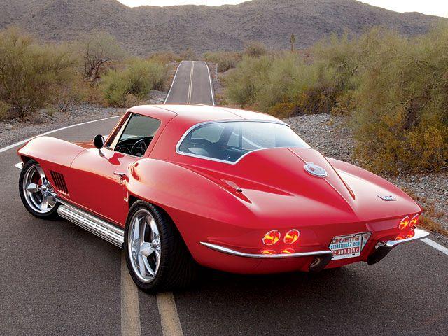1964 Corvette Avec Images Chevrolet Corvette Voiture Vintage