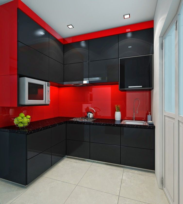 Kitchen Cabinets Singapore: Small L Kitchen Design Singapore Hdb