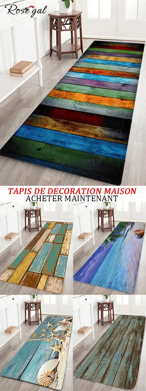 Tapis De Decoration Maison Pour Salle De Bain Ou Couloir Rosegal Tapis Decoration Maison Couloir Bois Decoration Maison Tapis Deco Tapis A Motifs