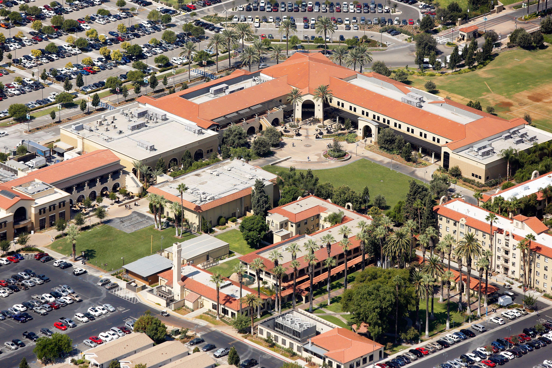 California Baptist University Campus Map.California Baptist University Cbu Aerial In Riverside California