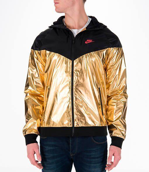 Men s Nike Sportswear Gold Foil Windrunner Jacket in 2019  8f6397ceb