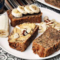 5 Ingredients Spelt & Chia Seeds Banana Bread, Vegan Friendly