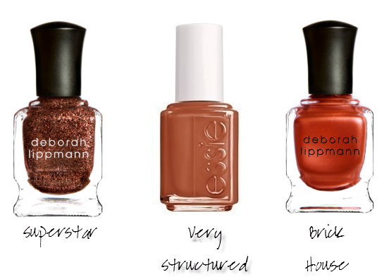 Love These Rust Colored Polishes For Fall Nail Polish