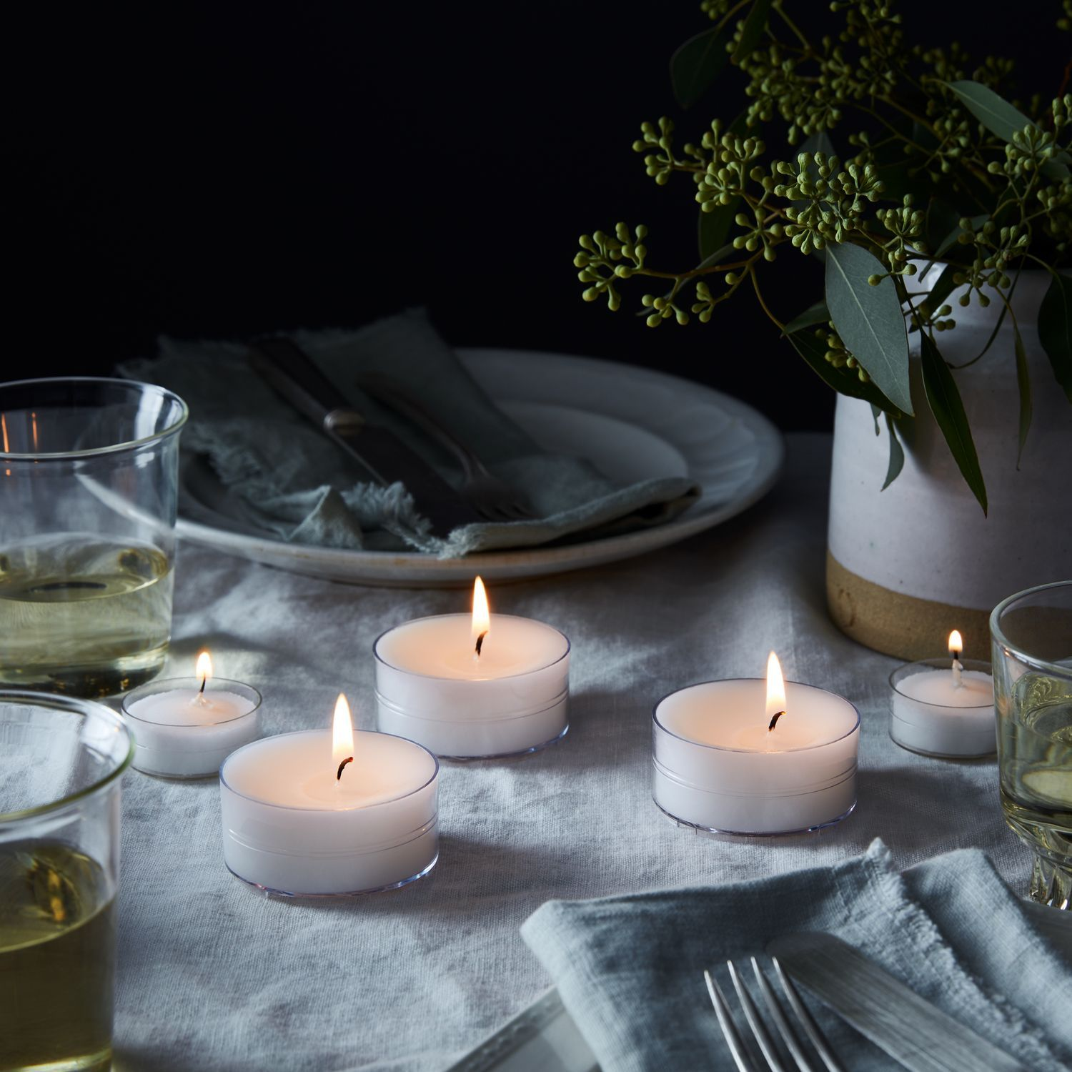 Oversized Candle Tea Lights On Food52 In 2020 Oversized Candles