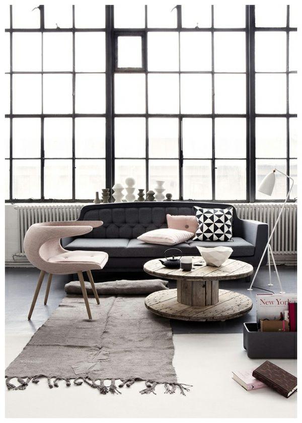 grau rosa | h o m e | pinterest | design und interieur - Wohnzimmer Grau Altrosa