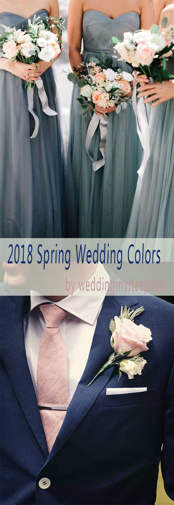 Wedding color prettiest spring color palettes incorporated