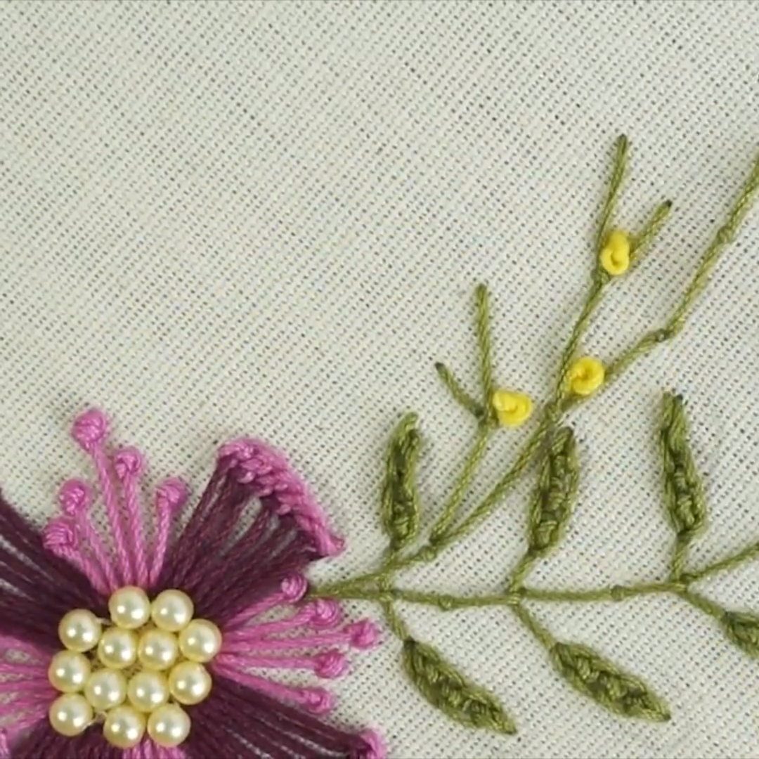 Embroidery pattern set, flower embroidery pattern ebook, hand embroidery stitches, embroidery kit beginner, modern embroidery