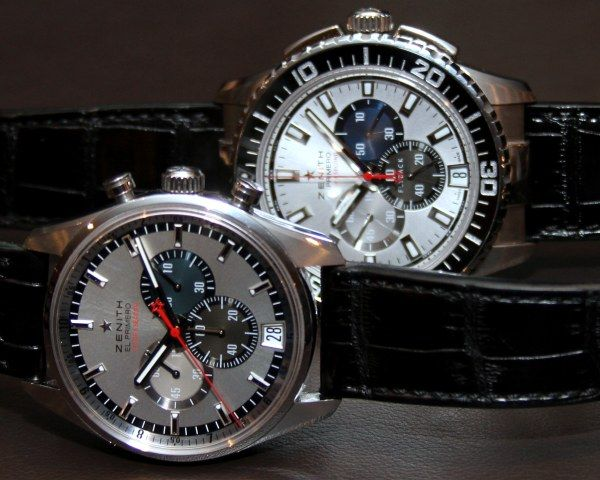 b19df6930cd Zenith El Primero Stratos Flyback Striking 10th - Measuring in tenths of  seconds and officially jumped from sub-orbital space with Felix Baumgartner
