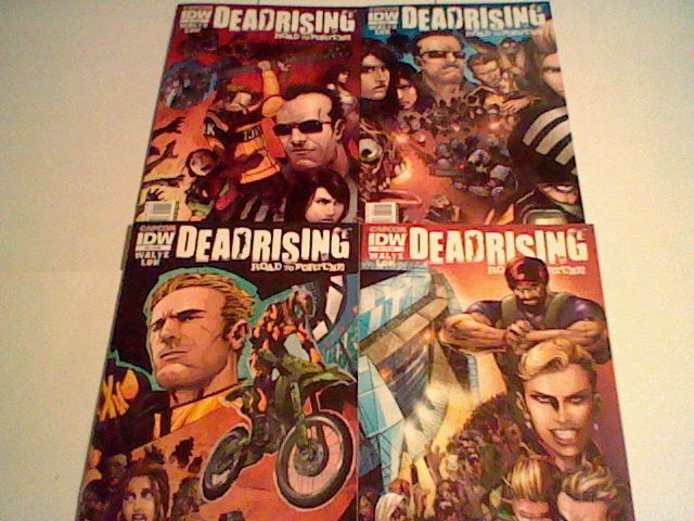 Dead Rising :Road to Fortune #1,2,3,4,,Capcom/ IDW,complete set!