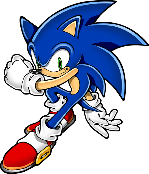 sonic the hedgehog 2d art