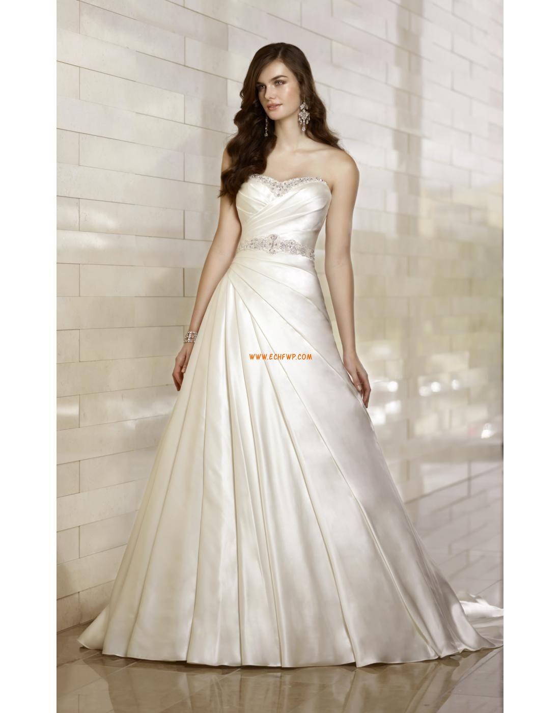 Church Court Train Sleeveless Wedding Dresses 2014   Accessories ...