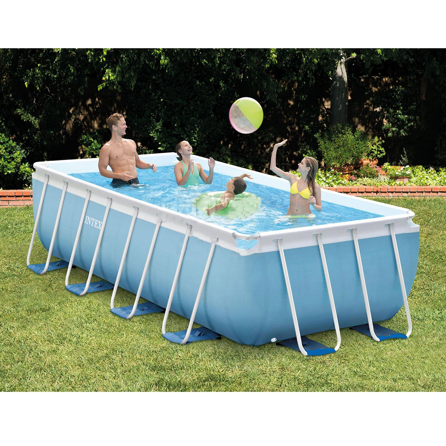 The Intex Prism Frame Pool Set Has Everything You Need To Get The