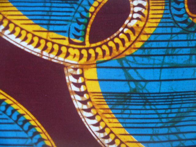 Tecido africano Wax