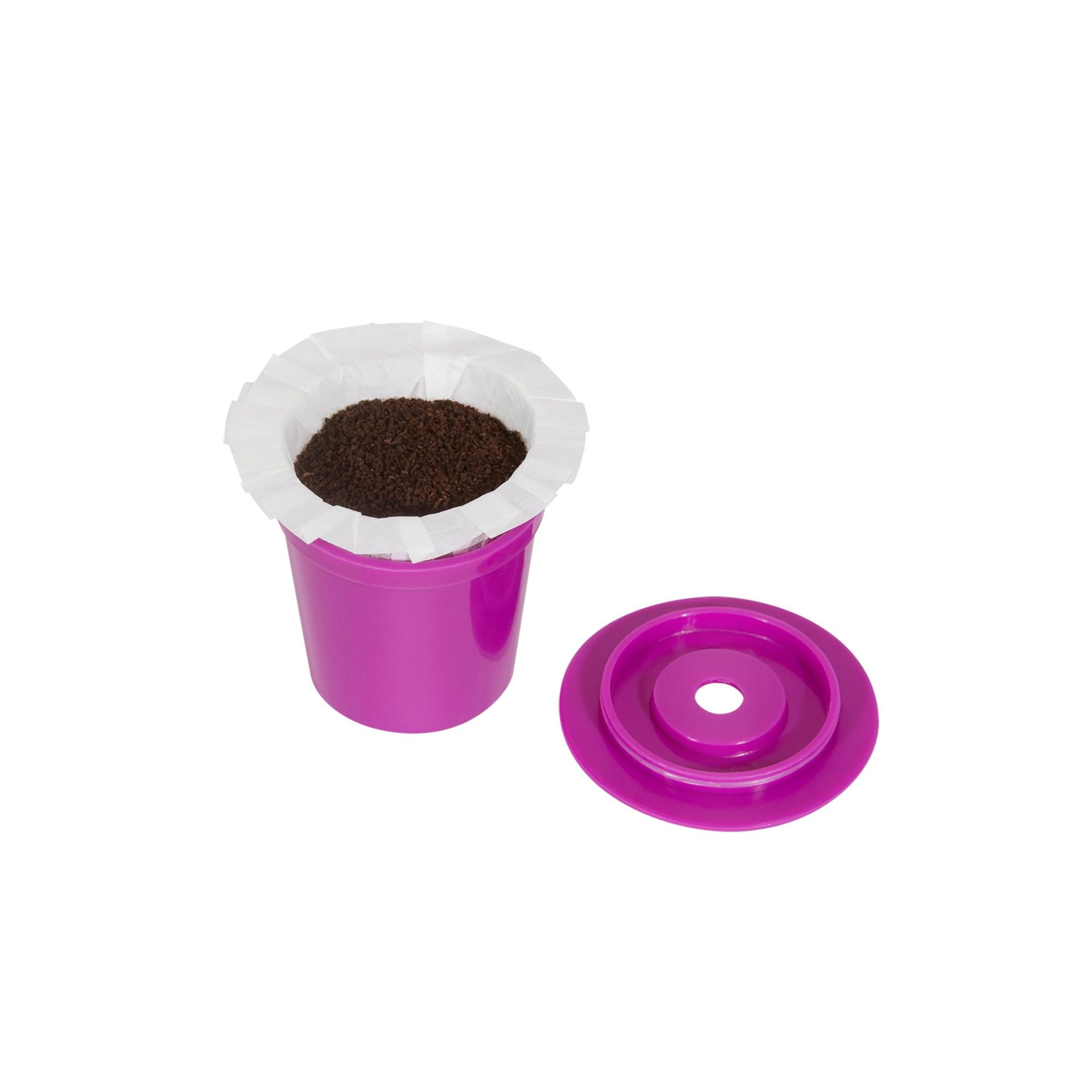 Perfect Pod EZCup 2.0 Single Serve Coffee Filter, Purple
