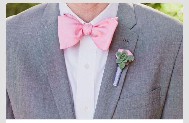 traje con moño rosa! | novios | pinterest | pink bow tie, groomsmen