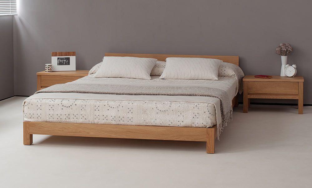 Nevada low wooden bed Deco Pinterest Camas modernas