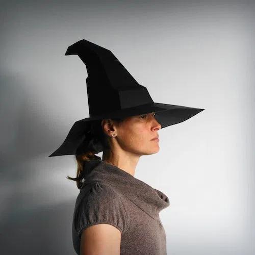 Magic Hat Papercraft Template Etsy Magic Hat Paper Crafts Hat Making