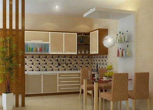 Desain Interior Ruang Makan Minimalis Kitchen Idea In 2018