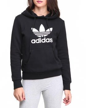 Buy Trefoil Pullover Hoodie Women's Hoodies from Adidas. Find ...