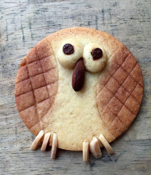 biscuit hibou sans emporte piece biscuits sabl s cookies pinterest emporte pi ce. Black Bedroom Furniture Sets. Home Design Ideas