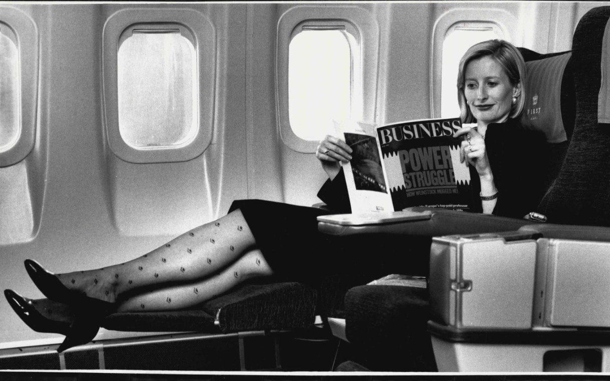 British Airways' first class a history of flying in style