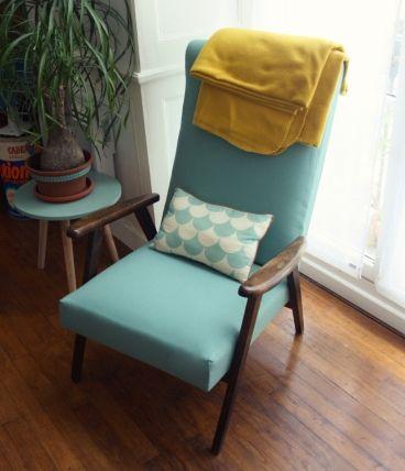 fauteuil pieds compas mint fauteuil chaise relook. Black Bedroom Furniture Sets. Home Design Ideas