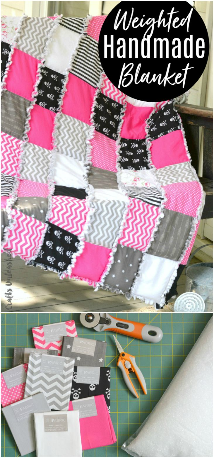 weighted blanket tutorial free pattern consumer crafts quilty