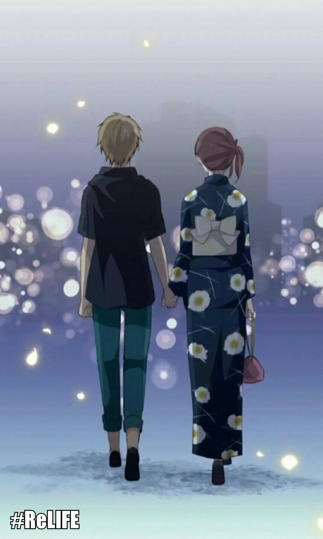 Ohga and Kariu sweet moments ReLIFE