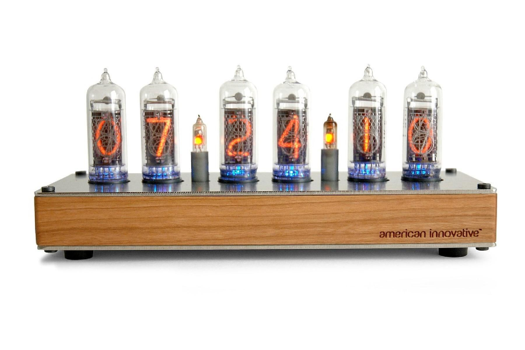 Nixie tube clocks may have fallen out of use with the rise of LED displays, but definitely not for lack of aesthetics. Now that they're making a comeback, American Innovative is looking for a group of hands-on Beta testers to purchase, build, and give feedback on their Nixie Clock kits. Options from fully assembled clocks down to just their printed circuit boards!