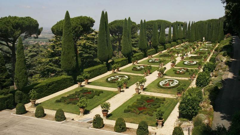 Castel gandolfo les jardins et le train du pape ouverts - Jardin a l italienne ...