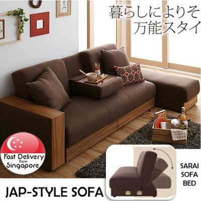 S 299 00 73 Jiji Sg Sarai Sofa Bed Japanese Style Storage Bed Family Wellness Family Comfort Diy Easy Designin Storage Bed Diy Comforter Sofa Bed