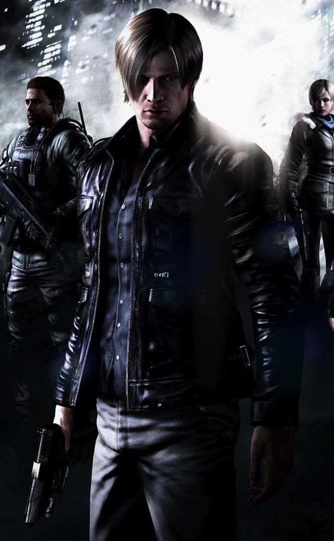 Resident Evil 6 Personagens De Videogame Resident Evil Videogames