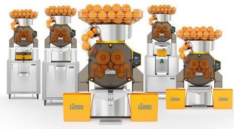 دستگاه آب پرتقال گیری ساخت زومکس اسپانیا مدل Speed Pro
