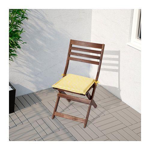 ikea nÄstÖn chair pad outdoor ties keep the chair pad firmly in