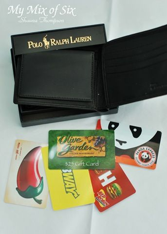 gift card wallet Perfect for kids living away from home Giving